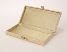 Wedding Cash Box in Kundan Design Golden