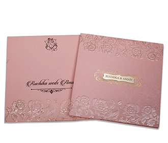 Wedding invitation in