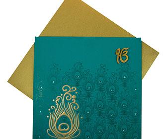 punjabi wedding cards images